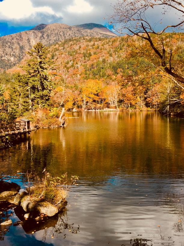 """2018年10月『森と湖と紅葉の山々、阿寒』 October 2018 \""""Lake, Forest, Mountains in Akan, Autumn\""""_c0219616_13480993.jpg"""
