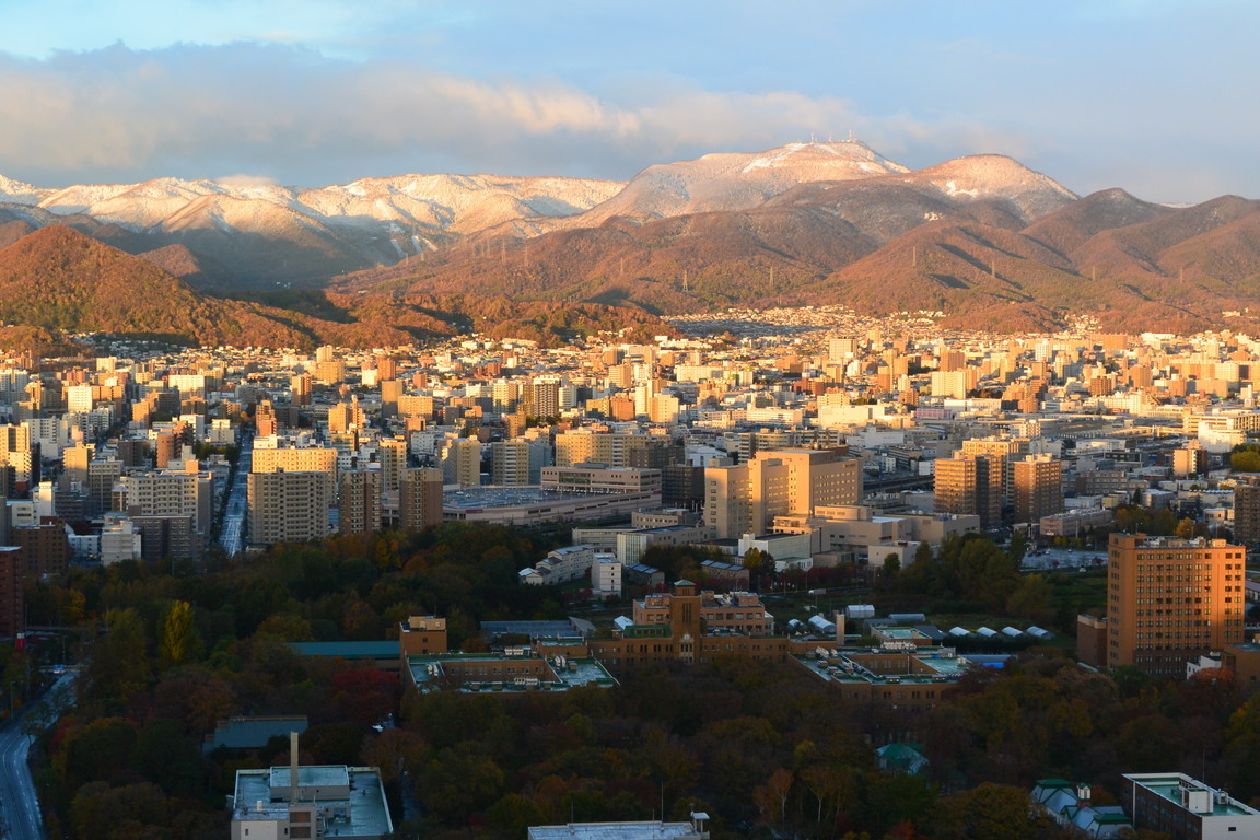 "2018年11月『深秋、札幌』 November 2018 ""Late Autumn, Sapporo\""_c0219616_14414506.jpg"