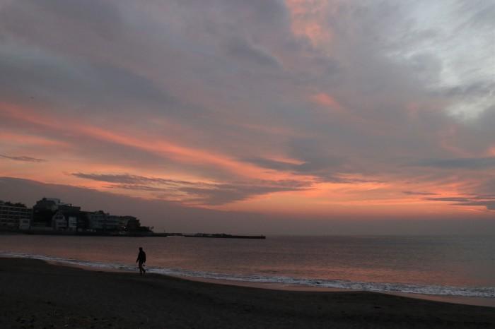 夕陽を見に 秋谷海岸へ (2)_d0150720_10252397.jpg