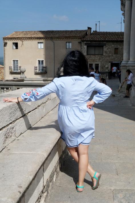 ジローナのカテドラル Cathedral of Girona サン・フェリウ教会 Basilica of Sant Feliu カタルーニャ地方 スペイン 2018年9月 バルセロナの旅(8)_f0117059_12460017.jpg