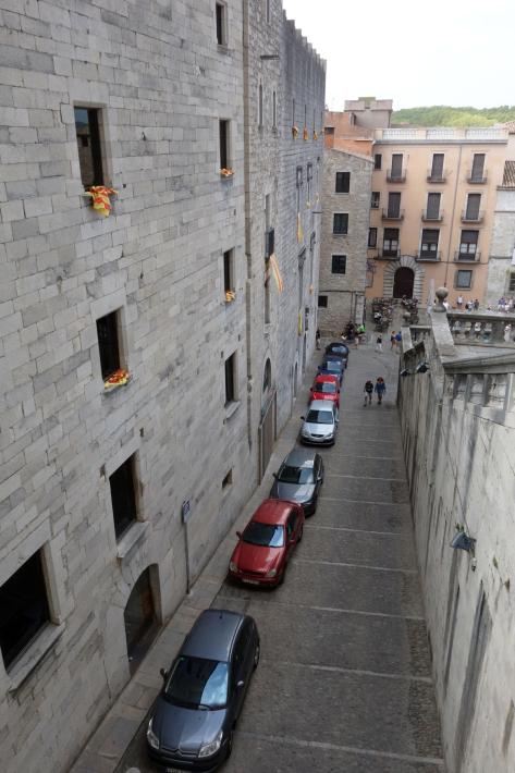 ジローナのカテドラル Cathedral of Girona サン・フェリウ教会 Basilica of Sant Feliu カタルーニャ地方 スペイン 2018年9月 バルセロナの旅(8)_f0117059_12460422.jpg