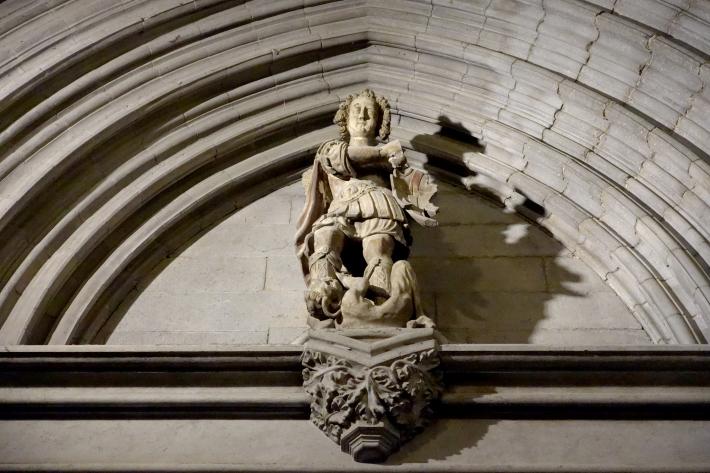 ジローナのカテドラル Cathedral of Girona サン・フェリウ教会 Basilica of Sant Feliu カタルーニャ地方 スペイン 2018年9月 バルセロナの旅(8)_f0117059_12462281.jpg