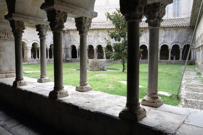 ジローナのカテドラル Cathedral of Girona サン・フェリウ教会 Basilica of Sant Feliu カタルーニャ地方 スペイン 2018年9月 バルセロナの旅(8)_f0117059_12463334.jpg