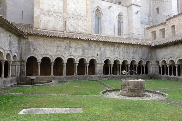 ジローナのカテドラル Cathedral of Girona サン・フェリウ教会 Basilica of Sant Feliu カタルーニャ地方 スペイン 2018年9月 バルセロナの旅(8)_f0117059_12464248.jpg