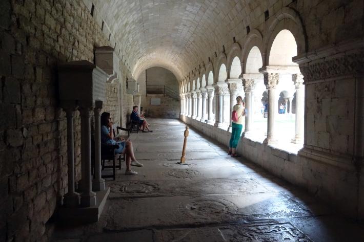 ジローナのカテドラル Cathedral of Girona サン・フェリウ教会 Basilica of Sant Feliu カタルーニャ地方 スペイン 2018年9月 バルセロナの旅(8)_f0117059_12465137.jpg