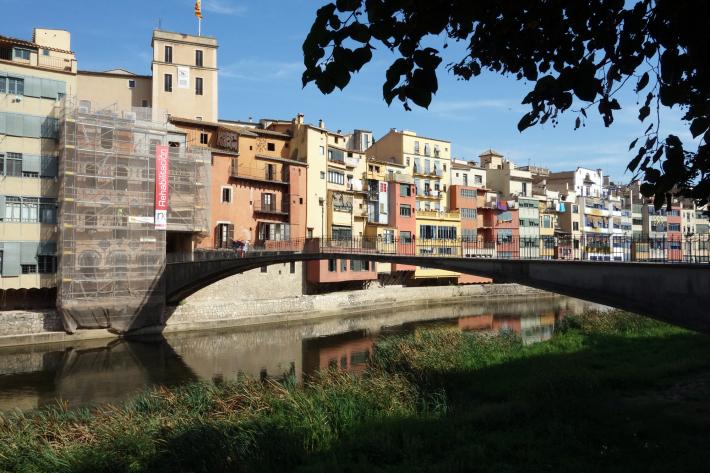ジローナのカテドラル Cathedral of Girona サン・フェリウ教会 Basilica of Sant Feliu カタルーニャ地方 スペイン 2018年9月 バルセロナの旅(8)_f0117059_12465909.jpg