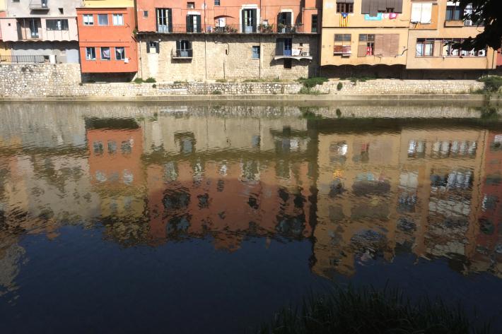 ジローナのカテドラル Cathedral of Girona サン・フェリウ教会 Basilica of Sant Feliu カタルーニャ地方 スペイン 2018年9月 バルセロナの旅(8)_f0117059_12471196.jpg