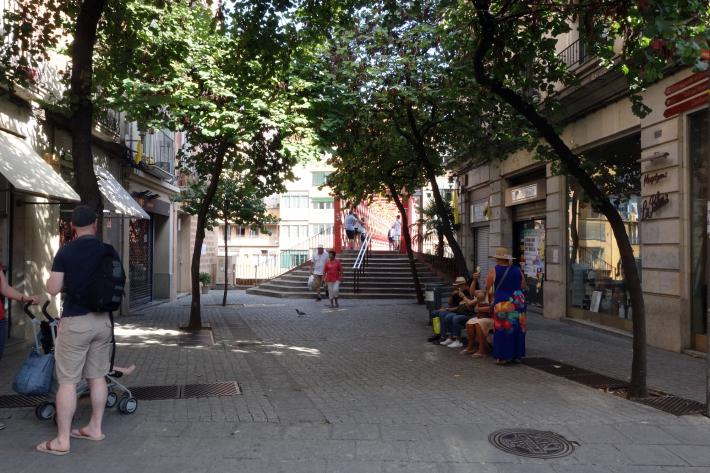 ジローナのカテドラル Cathedral of Girona サン・フェリウ教会 Basilica of Sant Feliu カタルーニャ地方 スペイン 2018年9月 バルセロナの旅(8)_f0117059_12472292.jpg