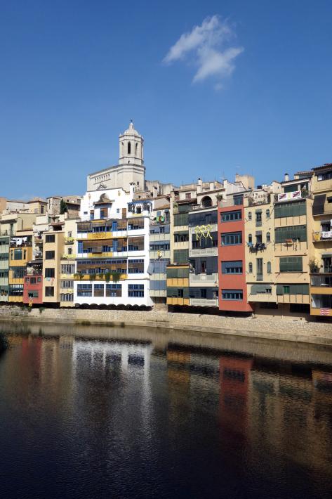 ジローナのカテドラル Cathedral of Girona サン・フェリウ教会 Basilica of Sant Feliu カタルーニャ地方 スペイン 2018年9月 バルセロナの旅(8)_f0117059_12472657.jpg