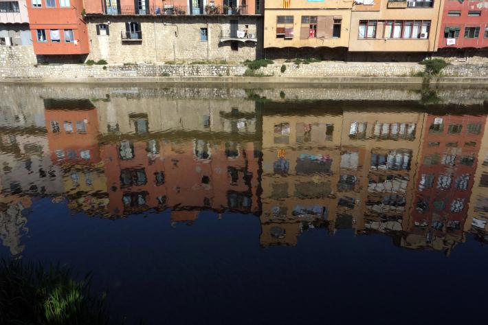 ジローナのカテドラル Cathedral of Girona サン・フェリウ教会 Basilica of Sant Feliu カタルーニャ地方 スペイン 2018年9月 バルセロナの旅(8)_f0117059_12473743.jpg