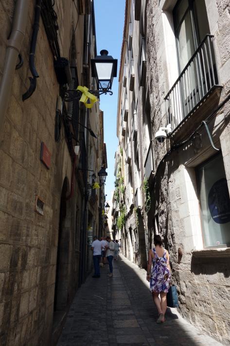 ジローナのカテドラル Cathedral of Girona サン・フェリウ教会 Basilica of Sant Feliu カタルーニャ地方 スペイン 2018年9月 バルセロナの旅(8)_f0117059_12475736.jpg