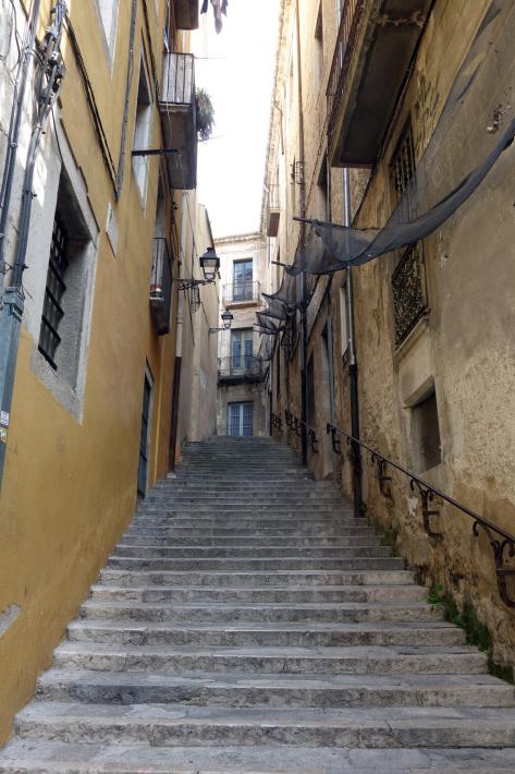 ジローナのカテドラル Cathedral of Girona サン・フェリウ教会 Basilica of Sant Feliu カタルーニャ地方 スペイン 2018年9月 バルセロナの旅(8)_f0117059_12480007.jpg
