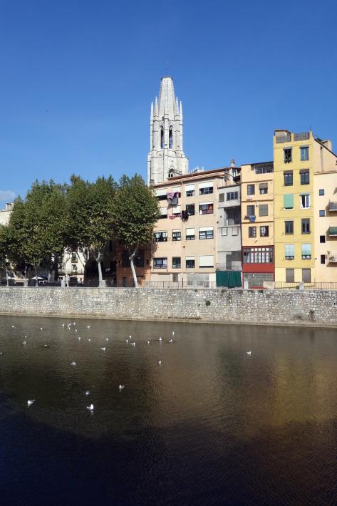 ジローナのカテドラル Cathedral of Girona サン・フェリウ教会 Basilica of Sant Feliu カタルーニャ地方 スペイン 2018年9月 バルセロナの旅(8)_f0117059_12481122.jpg