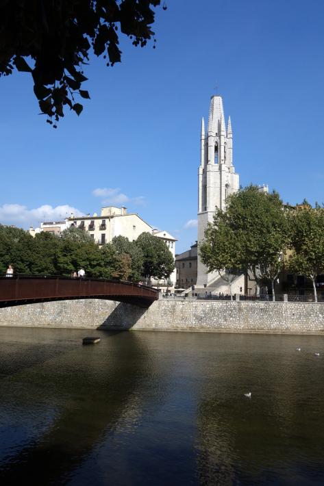 ジローナのカテドラル Cathedral of Girona サン・フェリウ教会 Basilica of Sant Feliu カタルーニャ地方 スペイン 2018年9月 バルセロナの旅(8)_f0117059_12481892.jpg