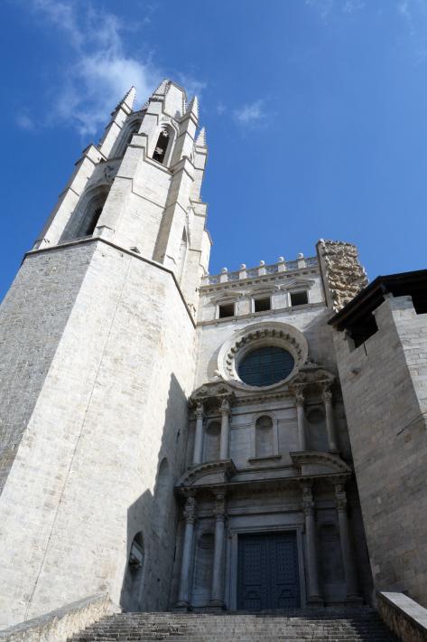 ジローナのカテドラル Cathedral of Girona サン・フェリウ教会 Basilica of Sant Feliu カタルーニャ地方 スペイン 2018年9月 バルセロナの旅(8)_f0117059_12483164.jpg