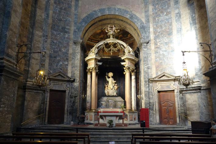 ジローナのカテドラル Cathedral of Girona サン・フェリウ教会 Basilica of Sant Feliu カタルーニャ地方 スペイン 2018年9月 バルセロナの旅(8)_f0117059_12483898.jpg