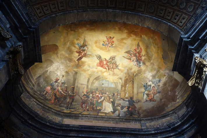 ジローナのカテドラル Cathedral of Girona サン・フェリウ教会 Basilica of Sant Feliu カタルーニャ地方 スペイン 2018年9月 バルセロナの旅(8)_f0117059_12484163.jpg