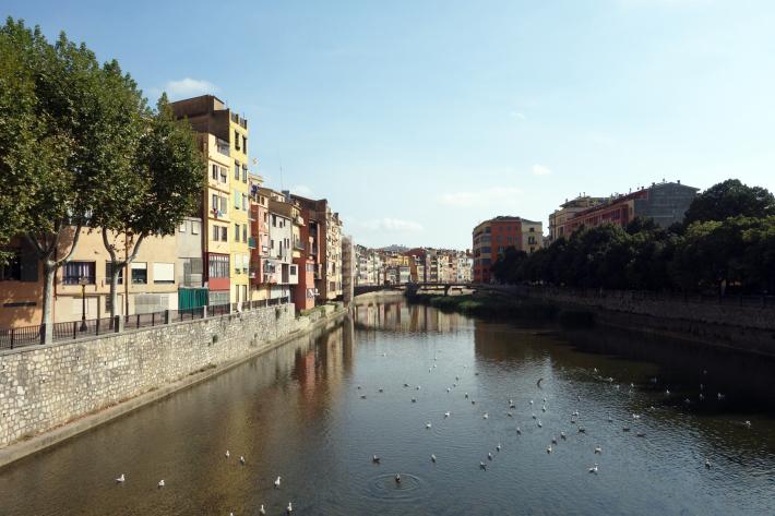 ジローナのカテドラル Cathedral of Girona サン・フェリウ教会 Basilica of Sant Feliu カタルーニャ地方 スペイン 2018年9月 バルセロナの旅(8)_f0117059_12492204.jpg