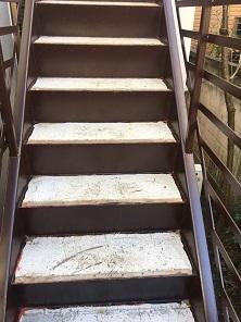 階段防水工事(杉並区)_c0183605_20011781.jpg