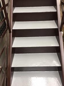 階段防水工事(杉並区)_c0183605_20052291.jpg