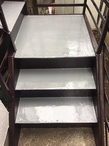 階段防水工事(杉並区)_c0183605_20054275.jpg