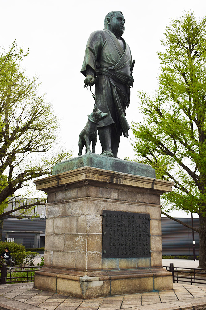 上野の西郷さん_e0158128_13442600.jpg
