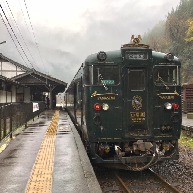 Train journey  九州の小京都へ_a0165160_16274051.jpg