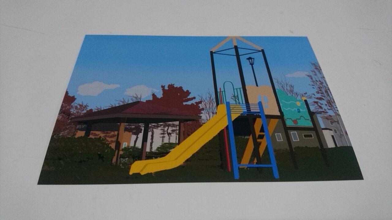 映画PとJK函館ロケ地の絵はがき。亀梨和也さんが活躍した場所がずらり。写真のように見えますが絵なんです!_b0106766_20471100.jpg