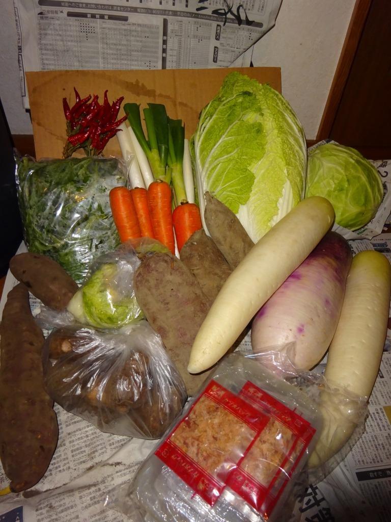 実家からの野菜2018 第五段!今年本当に最後_d0061678_10093063.jpg