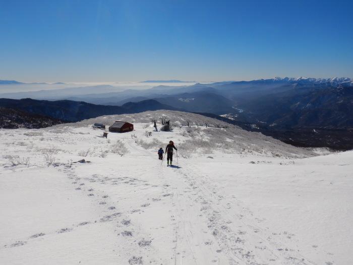 快晴の月山・姥ヶ岳 ~ 2018年12月2日_f0170180_23532783.jpg