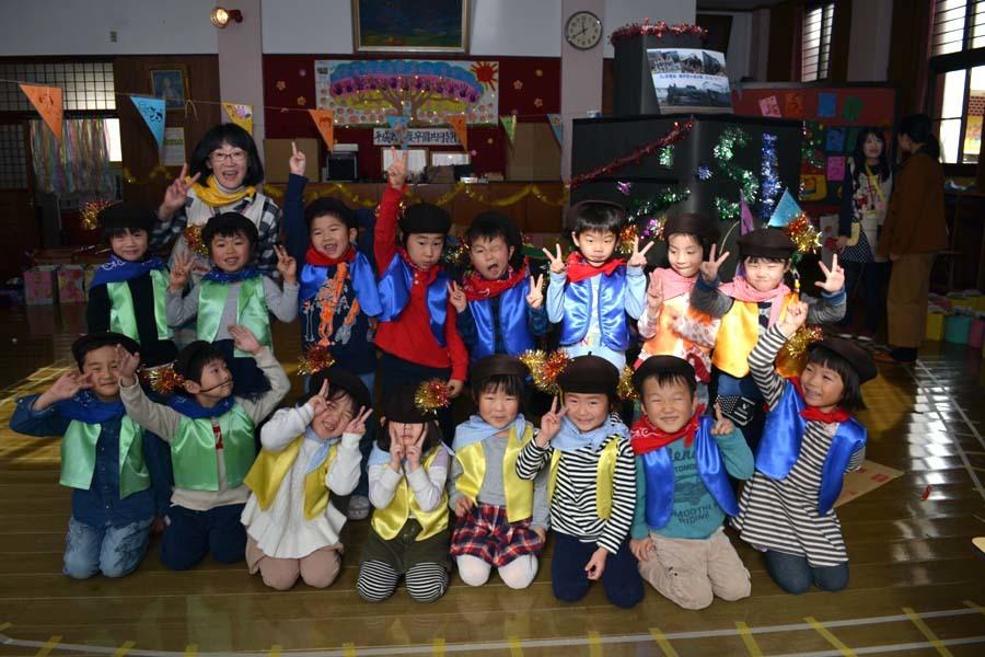 今日は第一幼稚園の「ごっこ遊び」でした_d0353789_15001420.jpg