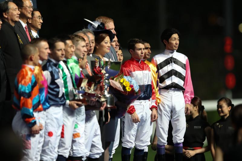2018年年12月5日 インターナショナル・ジョッキーズ・チャンピオンシップ(ハッピーバレー競馬場)_f0204898_02344859.jpg