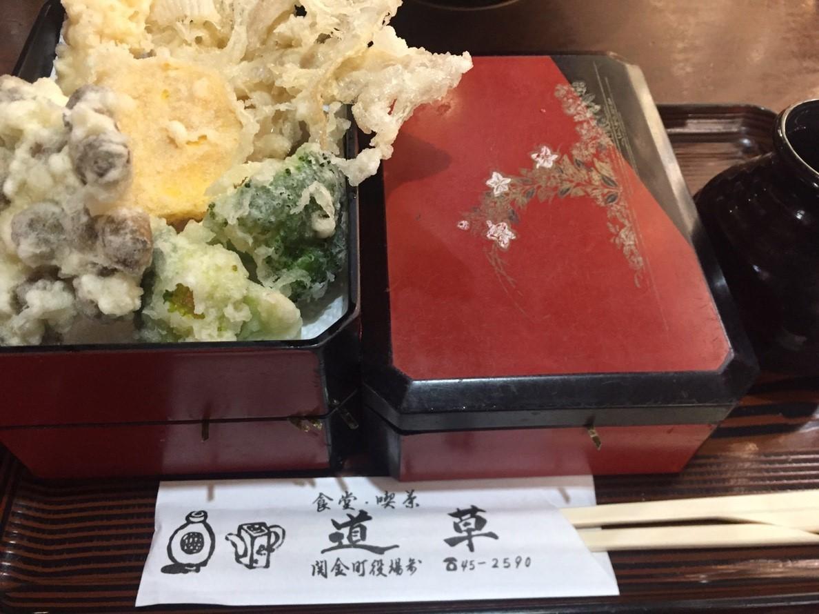関金名物 本手打ち うどん そば  道草_e0115904_01040129.jpg