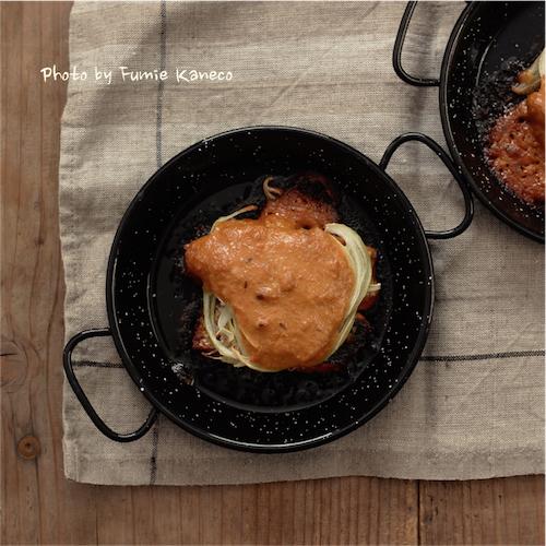 秋鮭とたまねぎのオーブン焼き みそソース_f0235919_08122016.jpg
