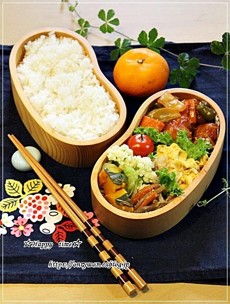 酢鶏弁当と12月のネイル♪_f0348032_17262498.jpg