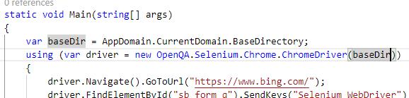 はじめての C# からの Selenium、そして NET Core ではエラーになる場合_d0079457_22333091.png
