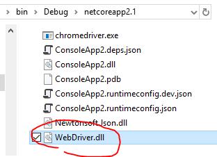 はじめての C# からの Selenium、そして NET Core ではエラーになる場合_d0079457_22333706.png