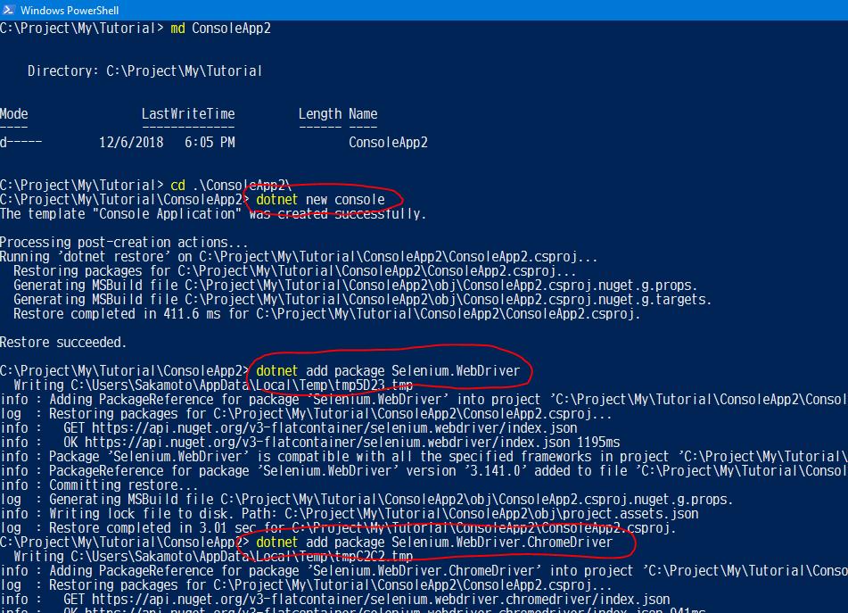 はじめての C# からの Selenium、そして NET Core ではエラーになる場合_d0079457_22340684.png