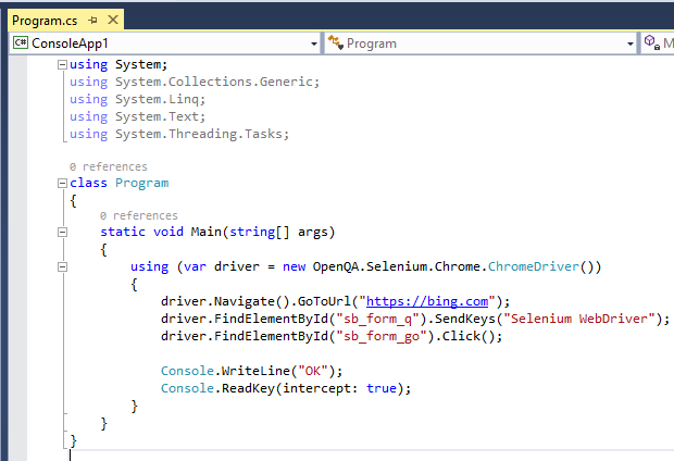 はじめての C# からの Selenium、そして NET Core ではエラーになる場合_d0079457_22341684.png