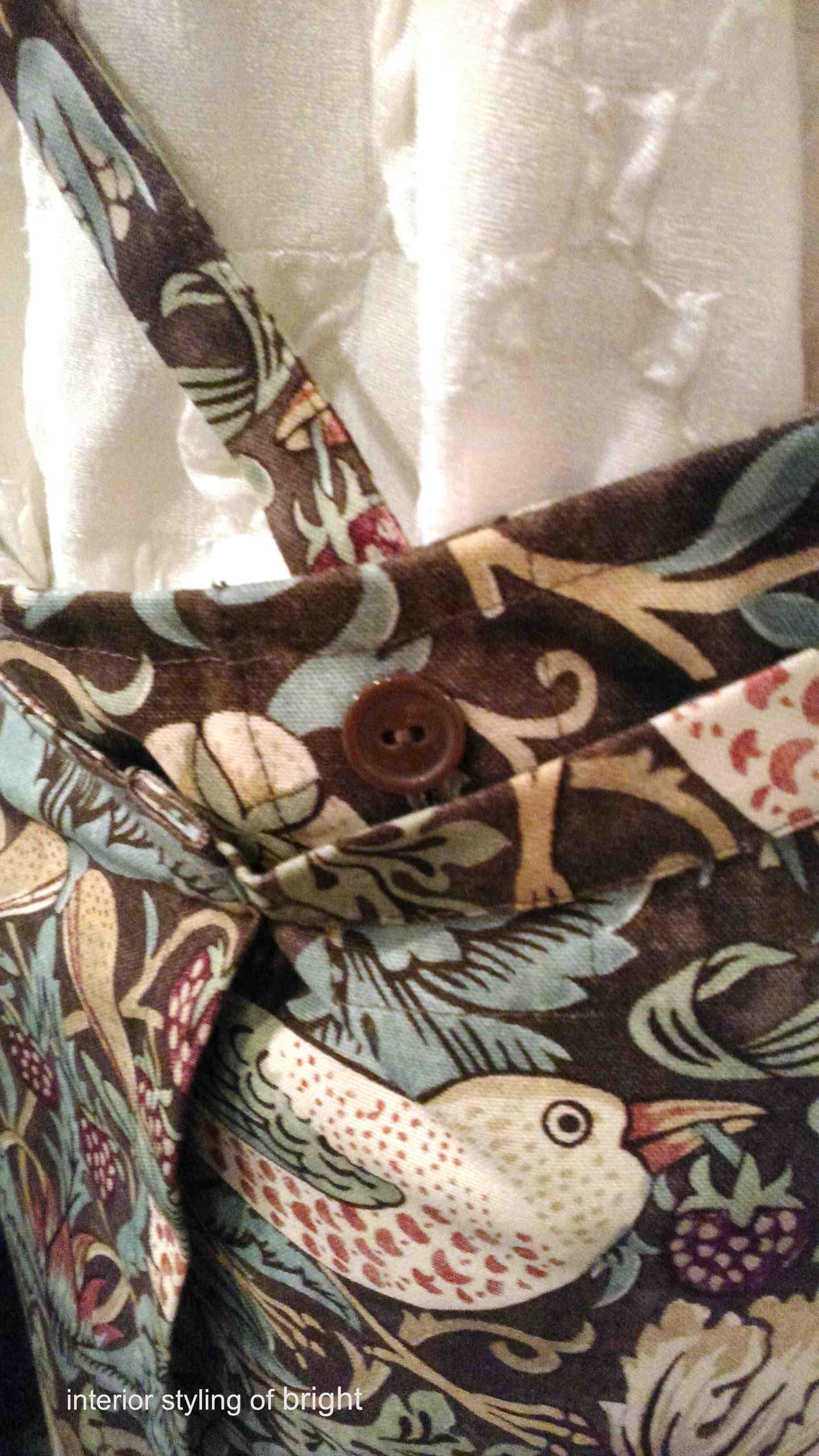 モリス エプロン『いちご泥棒』 ウィリアムモリス正規販売店のブライト_c0157866_19182459.jpg