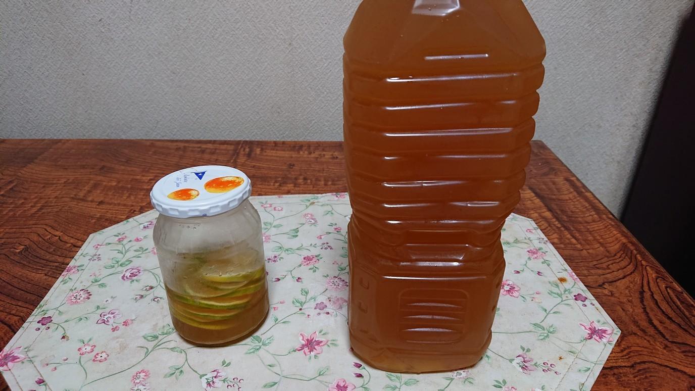 丘ばちハチミツ×瀬戸田レモン実は美味しい_d0155439_23384462.jpg