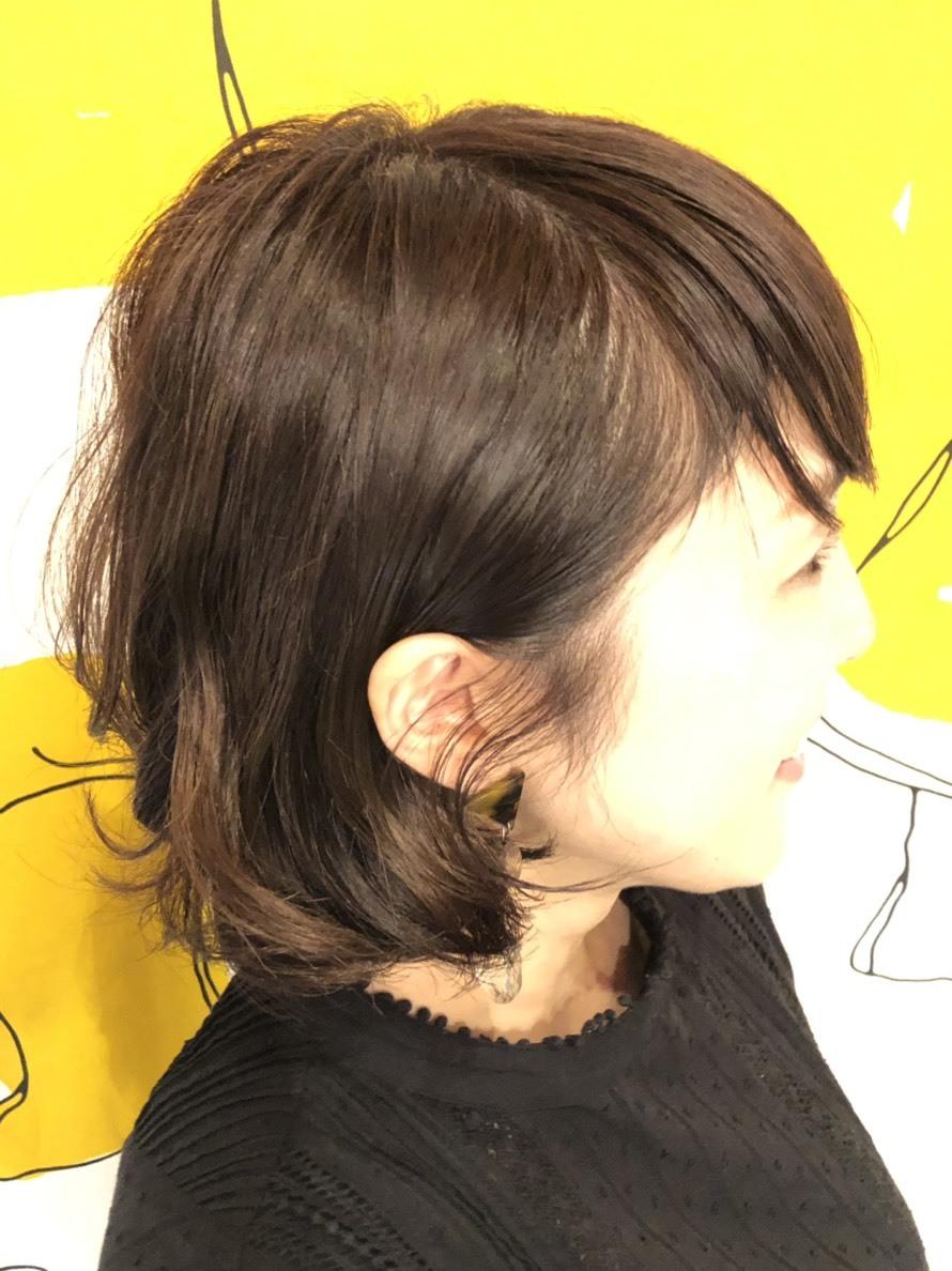 白髪染めもナノスチームカラー!!_a0272765_17541924.jpg