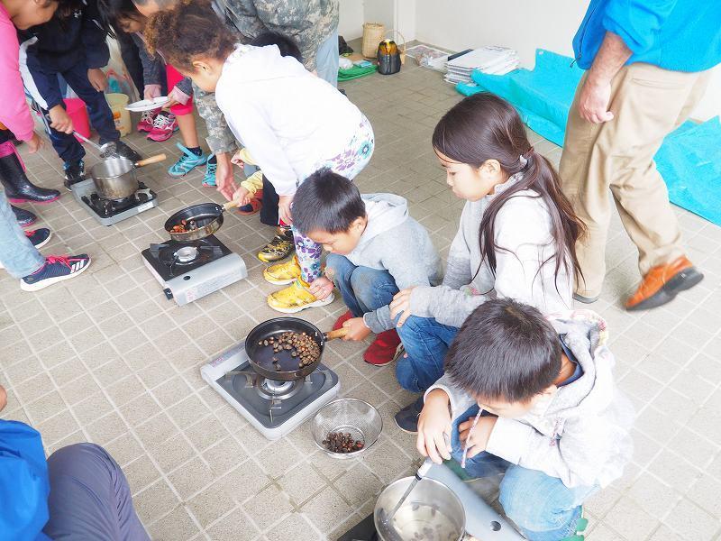 第5回 くんじゃん山学校 「どんぐりを食べよう!」_f0121321_19164415.jpg