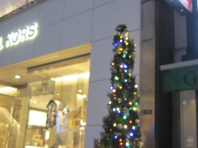 ♪平成最後★クリスマス模様(銀座昼夜)_d0162225_22580838.jpg