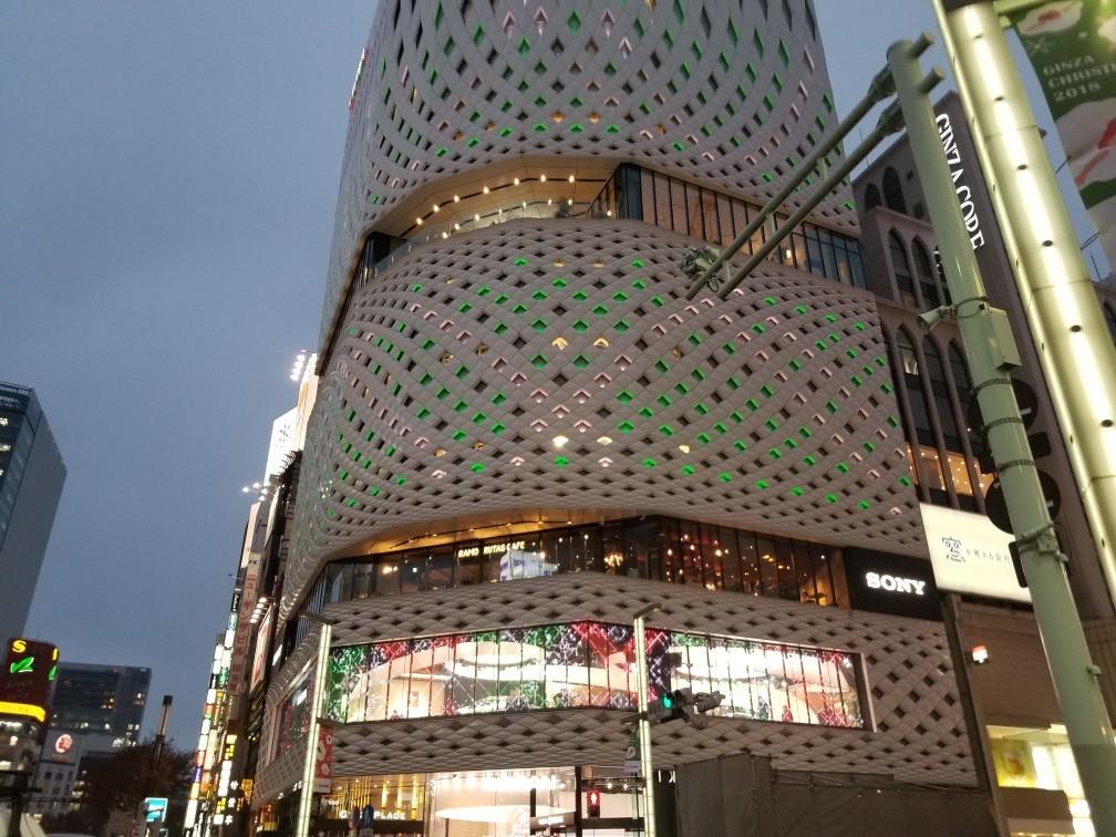 ♪平成最後★クリスマス模様(銀座昼夜)_d0162225_23003434.jpg