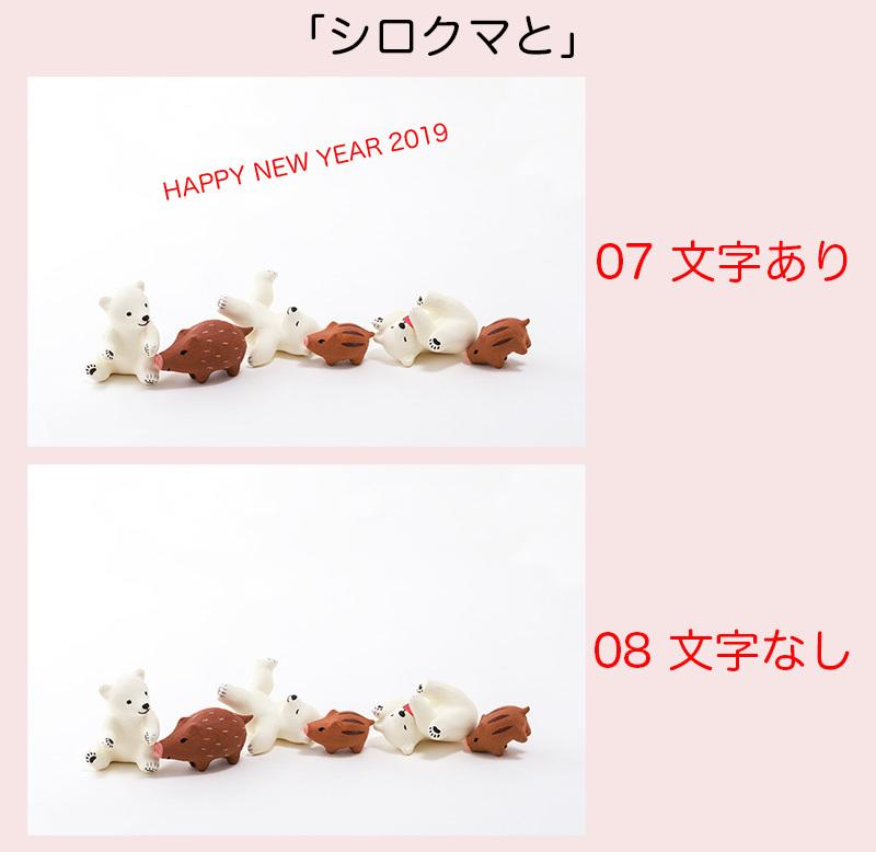 【2019年・年賀状カードの販売】_a0003650_21511065.jpg