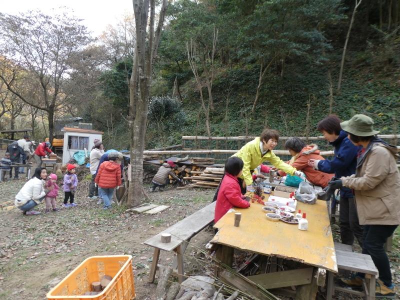きのくに子どもNPO「孝子の森でネイチャークラフト」_c0108460_20250780.jpg