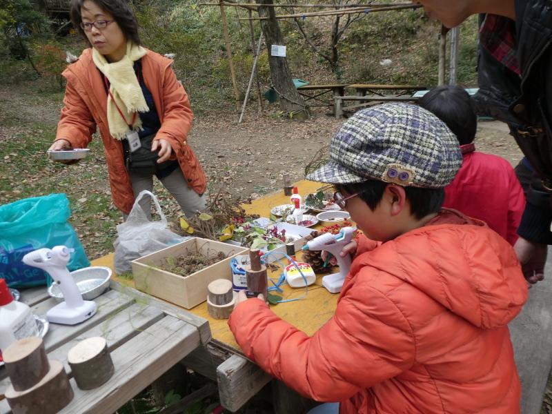 きのくに子どもNPO「孝子の森でネイチャークラフト」_c0108460_20273693.jpg
