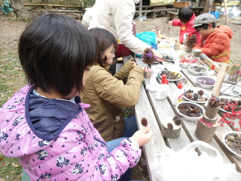 きのくに子どもNPO「孝子の森でネイチャークラフト」_c0108460_20294855.jpg