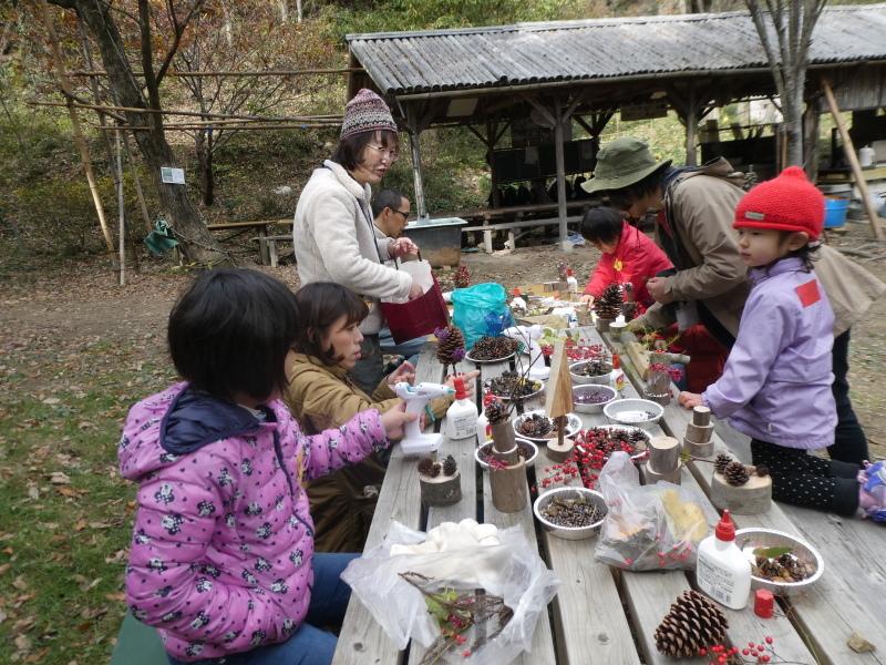 きのくに子どもNPO「孝子の森でネイチャークラフト」_c0108460_20294958.jpg
